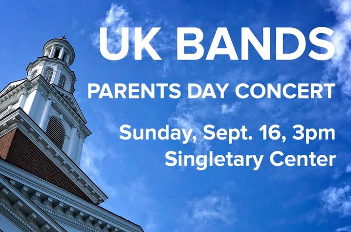 photo of web banner for Parents Day Concert