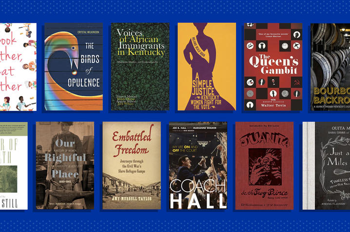 Graphic of book covers