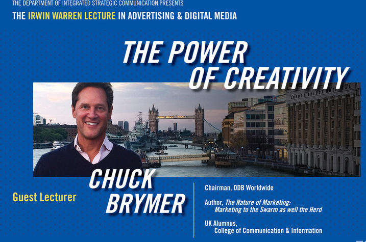 Chuck Brymer will deliver the Irwin Warren Lecture.