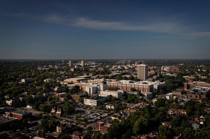 Wide campus shot.
