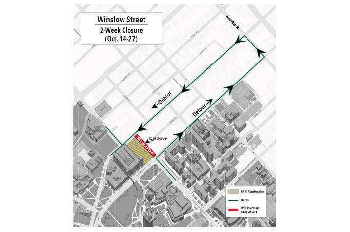 Winslow closure map.