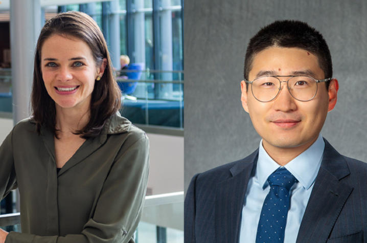 The CHET Health Equity Pilot Grants will support College of Agriculture, Food and Environment researchers Courtney Luecking and Shuoli Zhao.