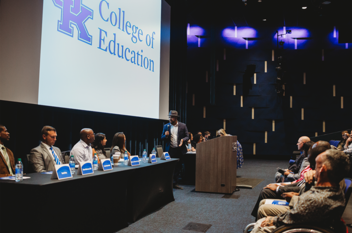 Photo taken by Amanda Nelson at the UK College of Educations's Diversity, Equity and Inclusion Symposium last fall