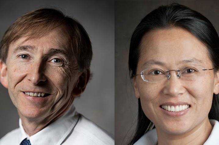 photo of Mark Crocker and Yaying Ji