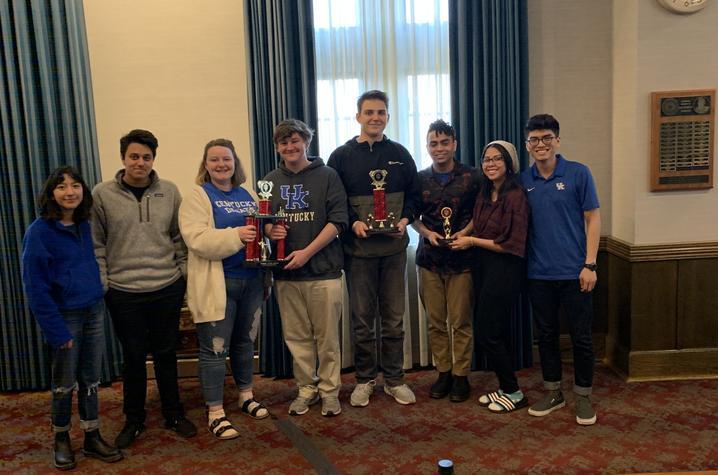 group photo of the UK Debate Team