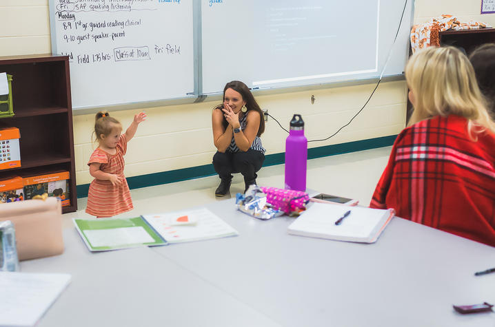 While teaching may need to be adapted to meet Scarlett's needs, Yost wants teachers to set their expectations high for Scarlett, rather than seeing Down syndrome as something holding her back.