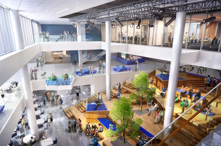 video shows future of new  175 million uk student center