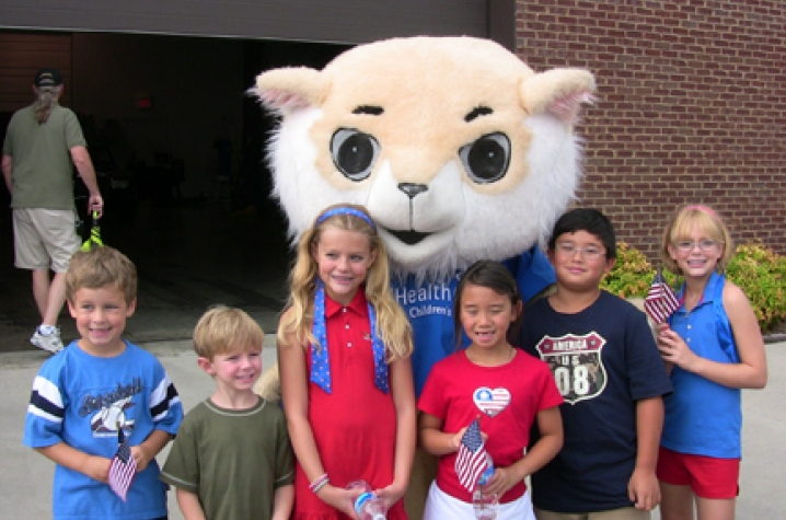 mascot tryouts for children s hospital uknow