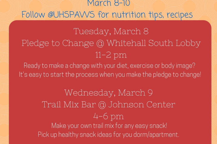 Celebrate National Nutrition Month With University Health Service Uknow