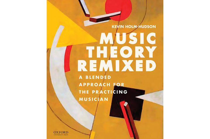 "photo of cover of ""Music Theory Remixed: A Blended Approach for the Practicing Musician"" by Kevin Holm-Hudson"
