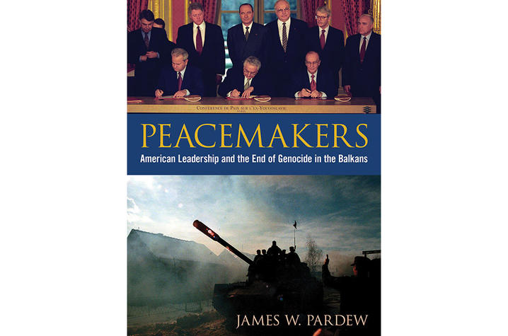 "photo of cover of ""Peacemakers"" by James W. Pardew"
