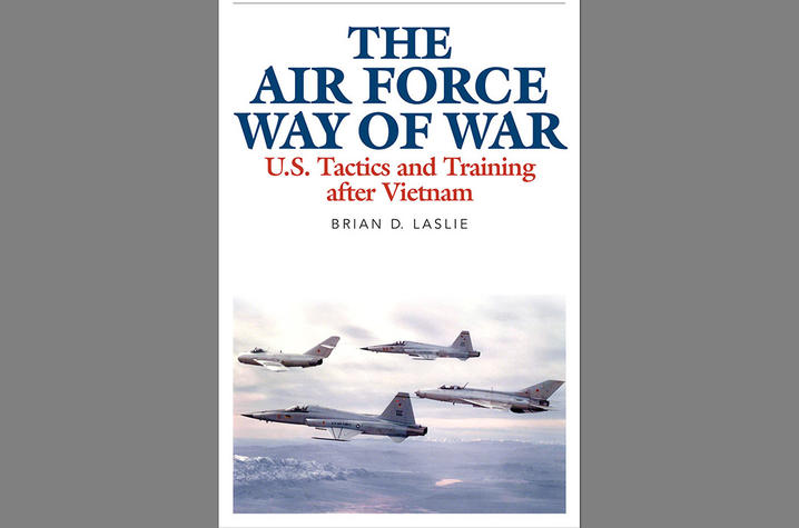 "photo of cover of ""The Air Force Way of War"""