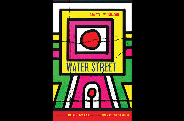 "photo of cover of ""Water Street"" by Crystal Wilkinson"