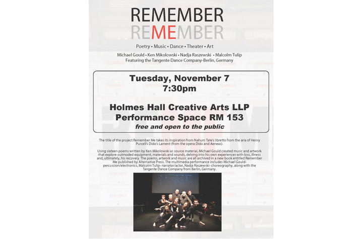 """photo of """"Remember Me"""" poster"""