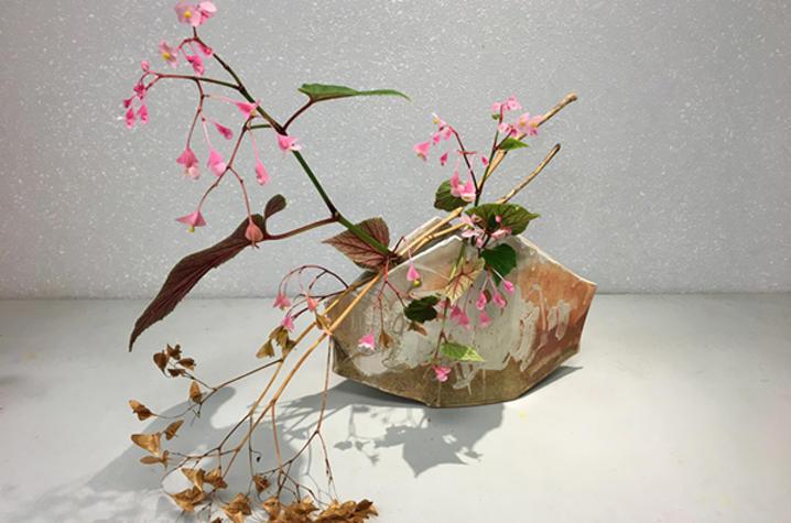 photo of floral design for Fine Arts Institute