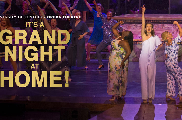 """photo of """"Grand Night at Home"""" banner"""