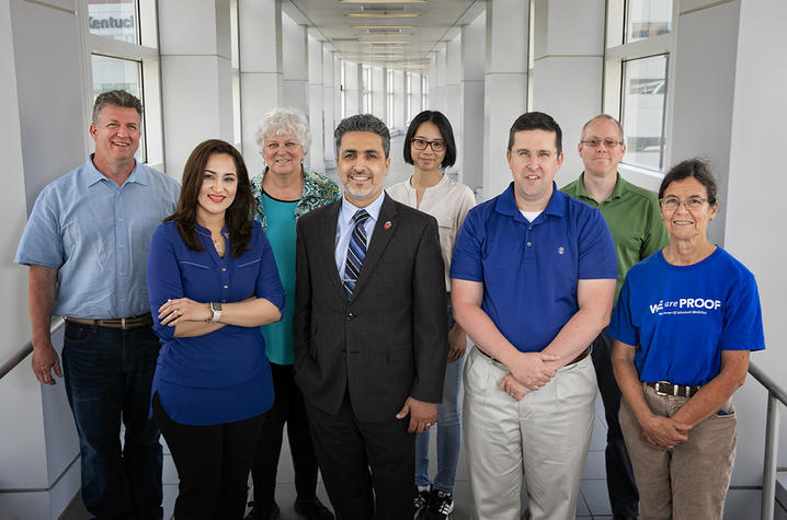 Photo of the research team