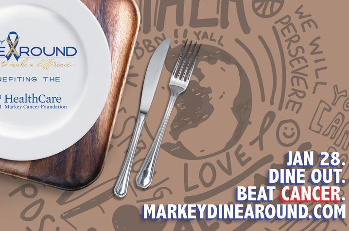 Lexington High School Senior Organizes Markey DineAround to Benefit Markey Cancer Foundation