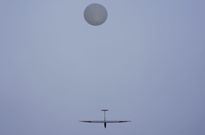 photo of HiDRON glider