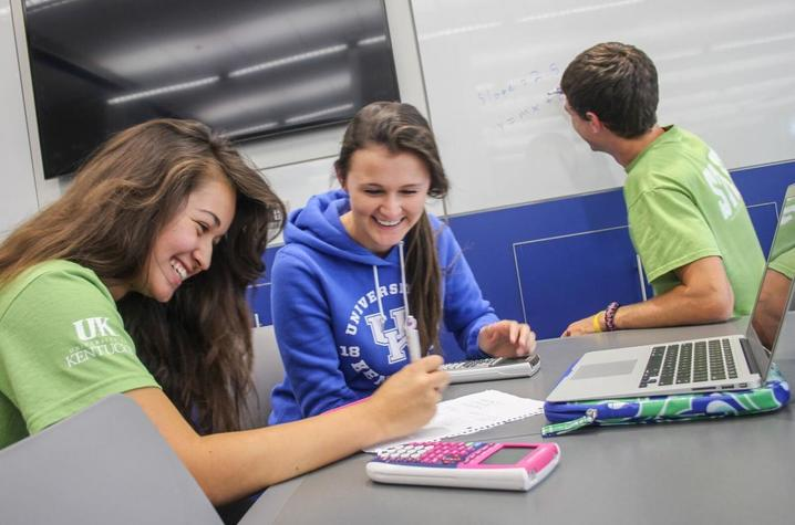 Peer tutors at The Study know what it takes to make the grade