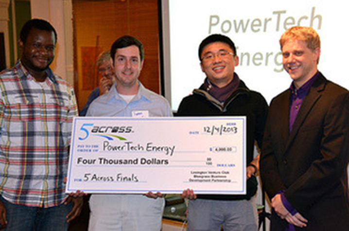 photo of original founders of PowerTech Water in 2013