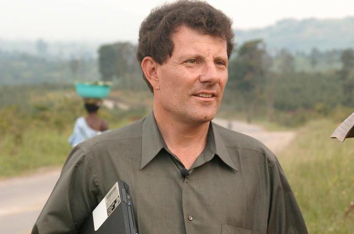 New York Times columnist Nicholas Kristof, two-time Pulitzer Prize winner