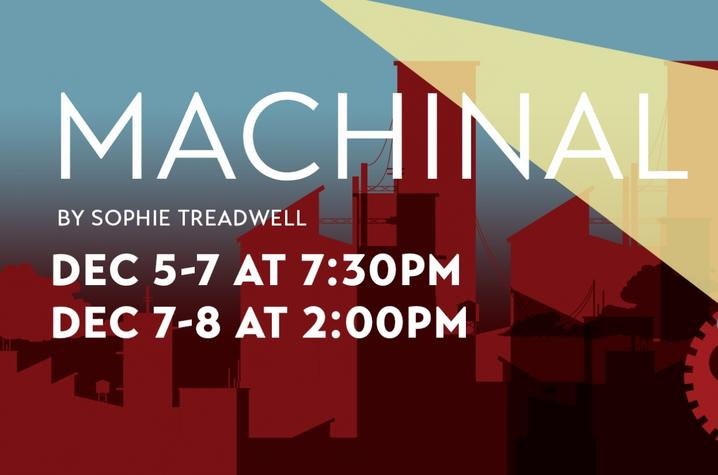 "photo of web slide for UK Theatre's ""Machinal"""