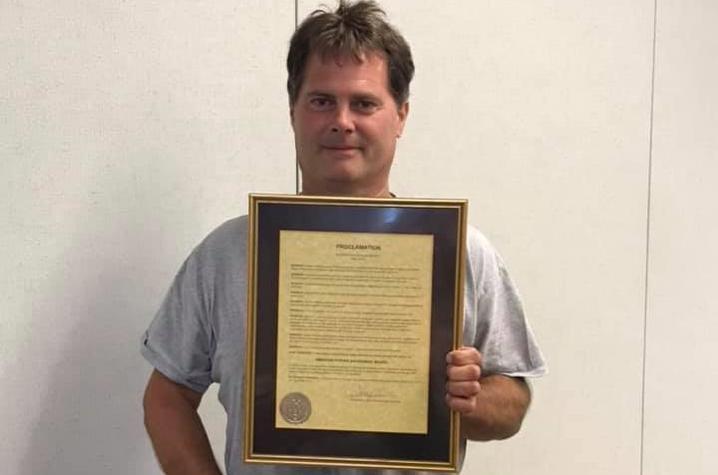 American Stroke Association award recipient Mark Kincaid | Photo Provided