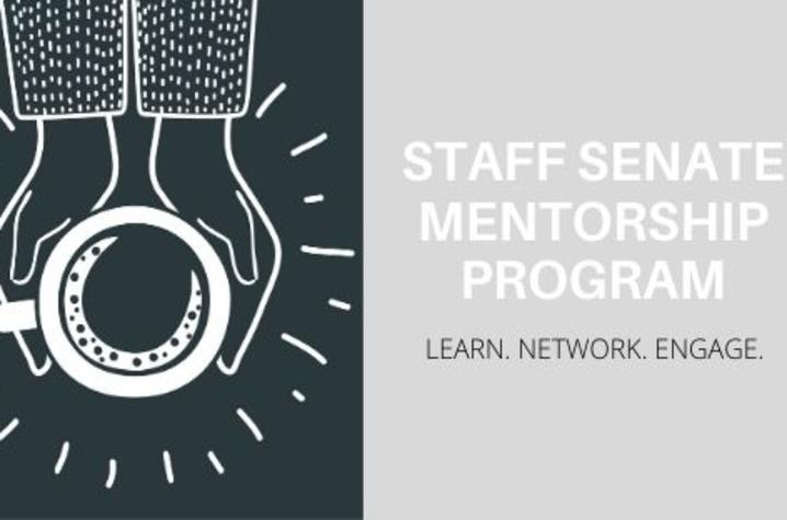 photo of Staff Senate Mentorship Program graphic