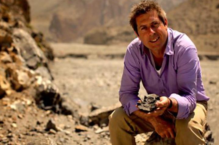 Geologist Iain Stewart