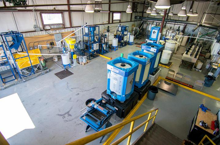 Rare Earth Elements Pilot Plant