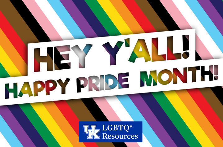 The Office of LGBTQ* Resources will be celebrating Pride Month beginning next week.