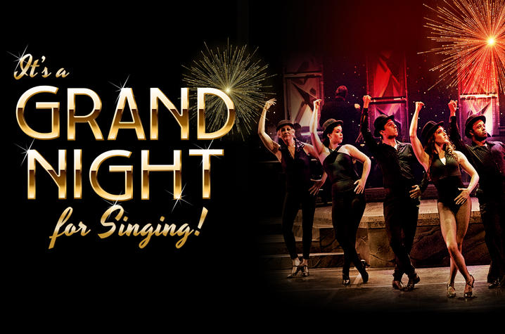 """photo of calendar art for UK Opera Theatre's """"It's a Grand for Singing!"""""""
