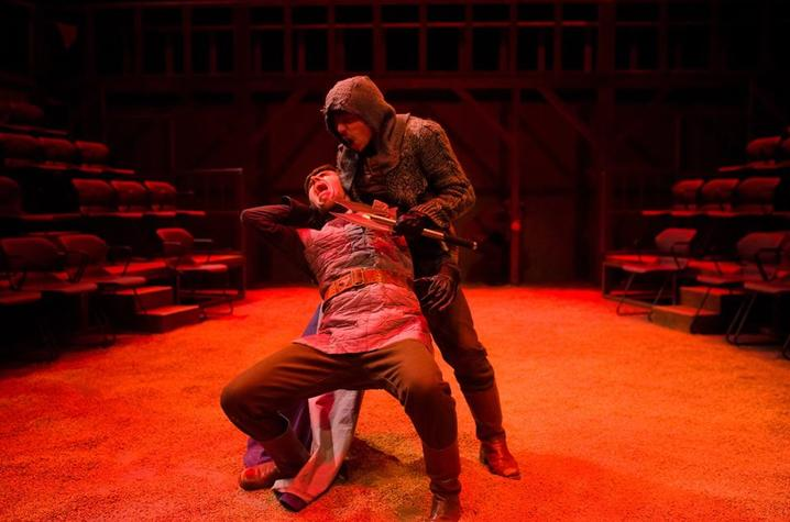 "photo of UK Theatre's production of ""Henry V"""