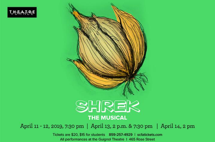 """photo of web banner for """"Shrek: The Musical"""""""