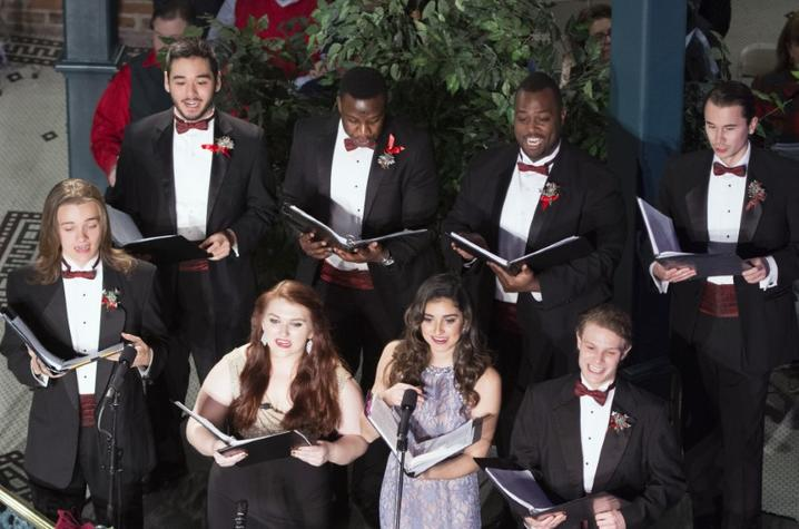 photo of UK opera singers at Celebration of Song at The Square