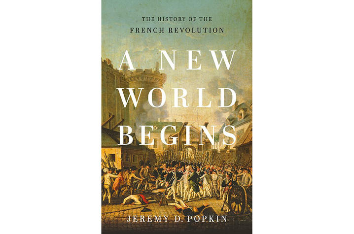 "Book cover of ""A New World Begins"""