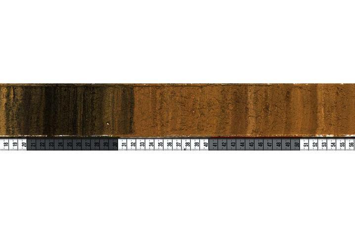 photo of sediment core