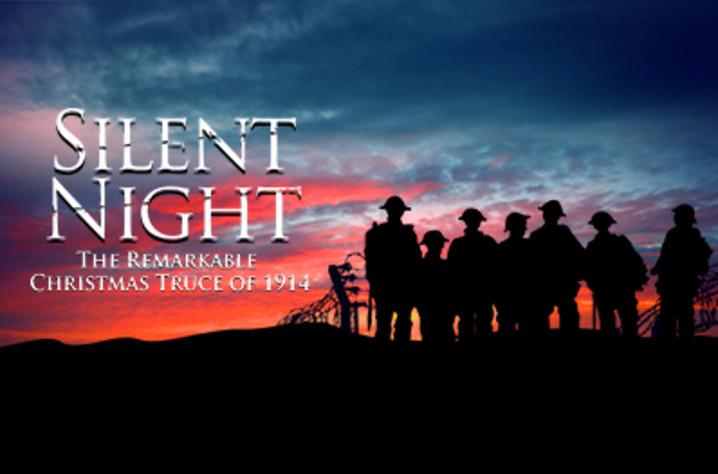 """Photo of calendar art for UK Opera Theatre's """"Silent Night: The Remarkable Christmas Truce of 1914"""""""