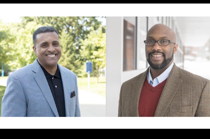 professors Gerald L. Smith (left) and Derrick E. White (right)