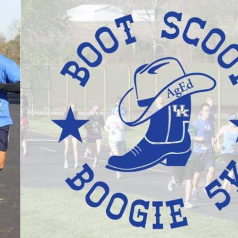 Boot, Scoot, and Boogie 5K - logo