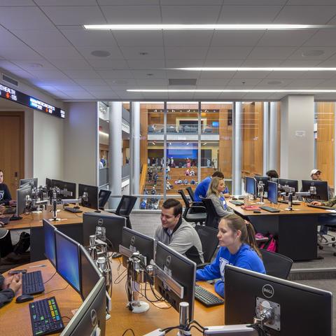 Gatton's Seale Finance Learning Center