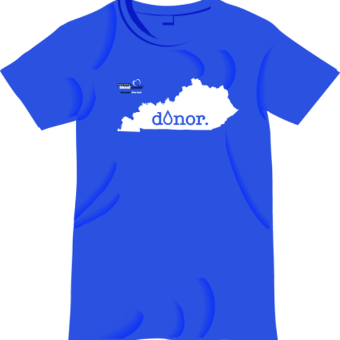 Free T-shirt for blood donors