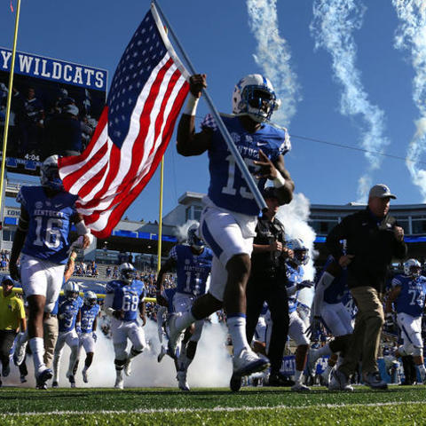 UK Football, photo courtesy of UK Athletics