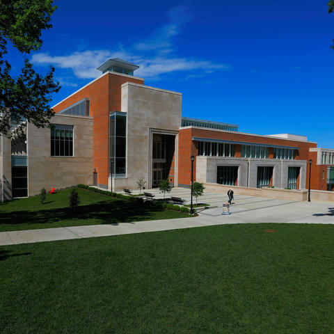 This is a photo of UK's Gatton College of Business and Economics.