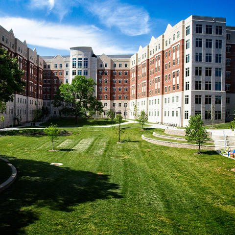 Outside Photo of Residence Halls on UK's Campus
