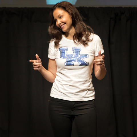 photo of Ashley Judd - Rosenstein lecture