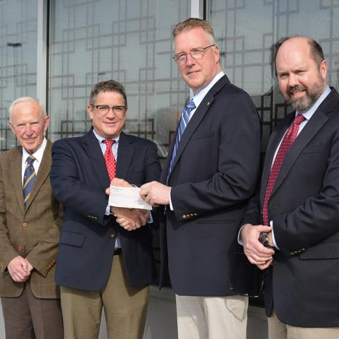 photo of Peter Timoney, Patrick Talley, David Horohov, Bill Wallace - Lloyd's of London Partnership