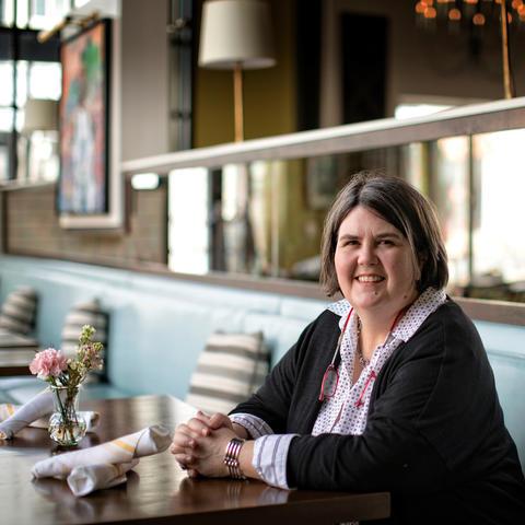 Ouita Michel at Honeywood restaurant on February 20, 2018. Photo by Mark Cornelison | UK Photo