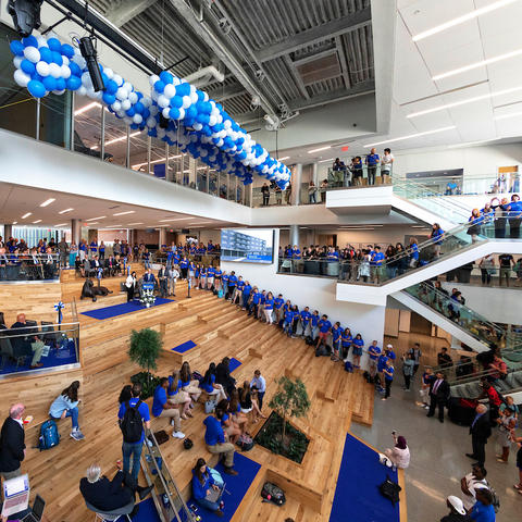 photo of student center atrium